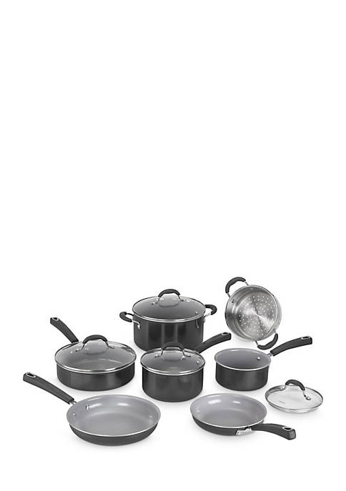 Cuisinart Advantage Ceramica 11-Piece Set- Black