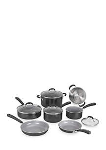 Advantage Ceramica 11-Piece Set- Black