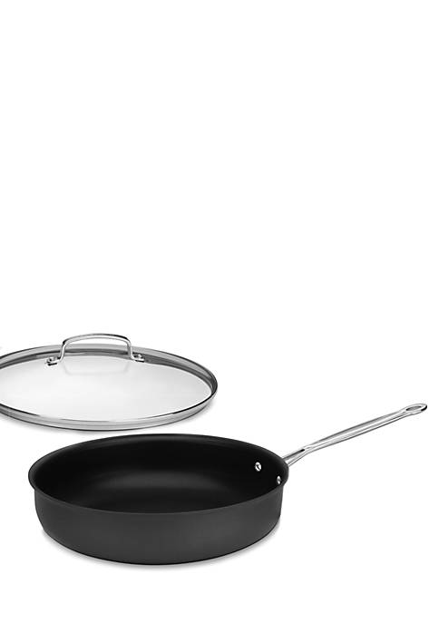 Chefs Classic Hard Anodized Nonstick 12-in. Frying Pan with Lid