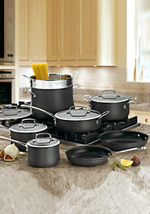 Contour Hard Anodized 13-Piece Cookware Set