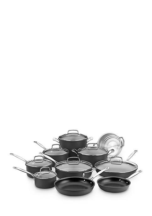 Chefs Classic Non-Stick Hard Anodized 17-Piece Set