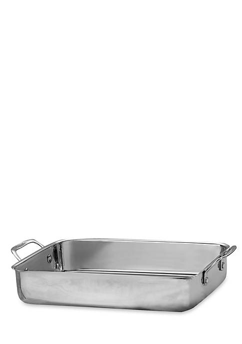 Cuisinart Chefs Classic Stainless 14-in. Lasagna Roaster Pan