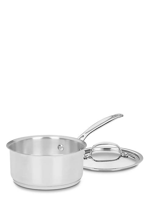 Cuisinart Chefs Choice Stainless Steel 1.5-qt. Saucepan with