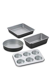 Chef's Classic Nonstick Bakeware 4-Piece Starter Set