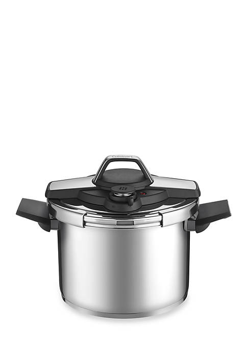 Cuisinart Stainless Pressure Cooker, 6-qt.