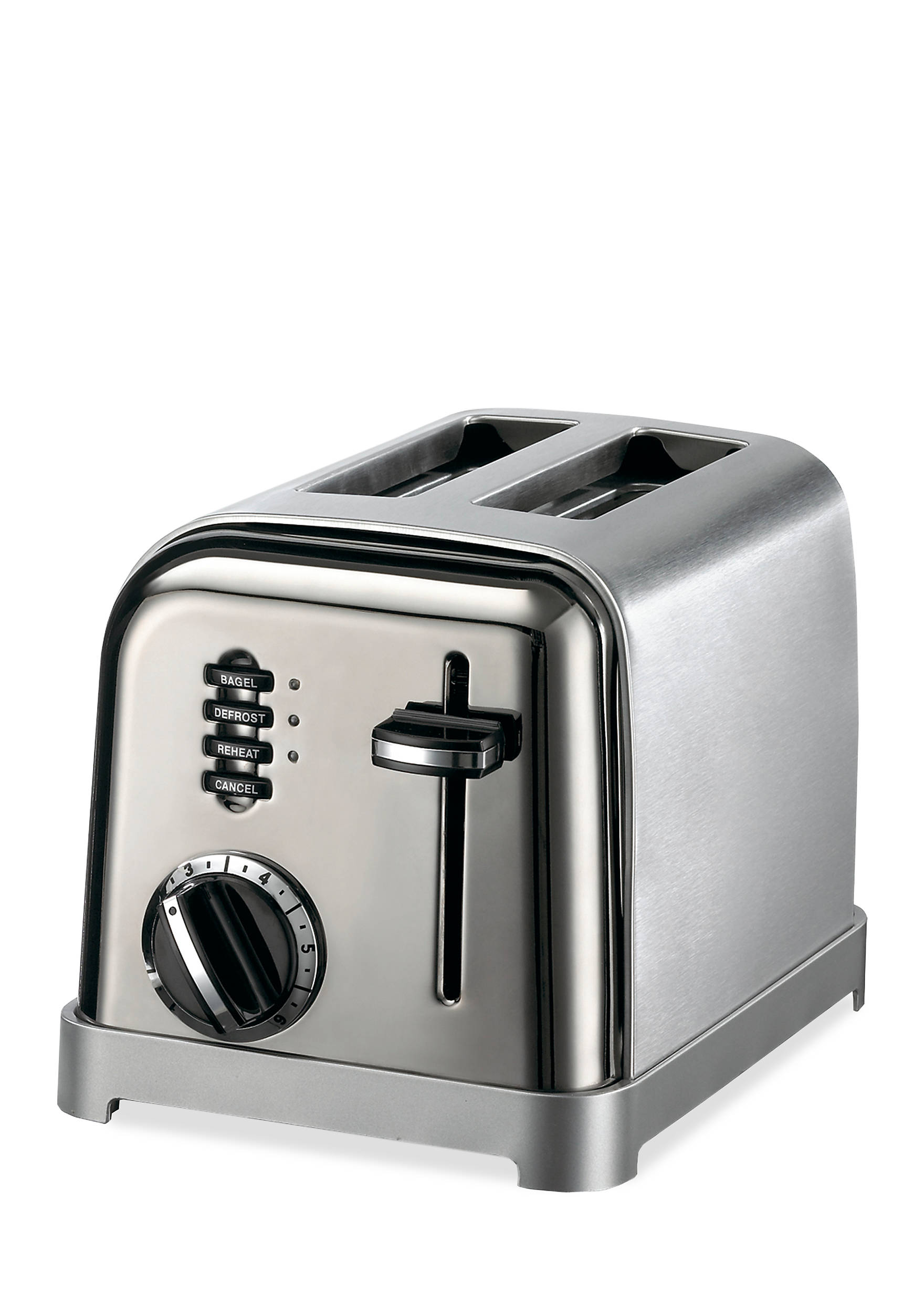 metal cool toaster two touch electronic in one classic slice cpt toasters cuisinart