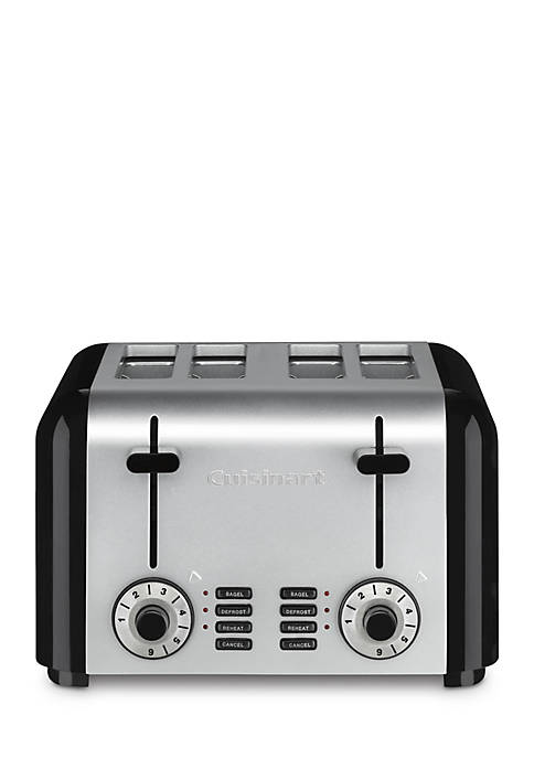 Cuisinart 4-Slice Compact Stainless Toaster CPT340