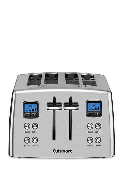 4-Slice Countdown Metal Toaster CPT435 - Online Only