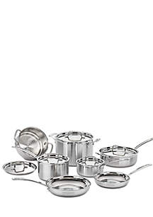 MultiClad Pro Stainless Steel 12-Piece Cookware Set - Online Only