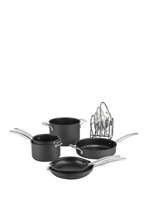 Cuisinart Smartnest Hard Anodized 11 Piece Cookware Set