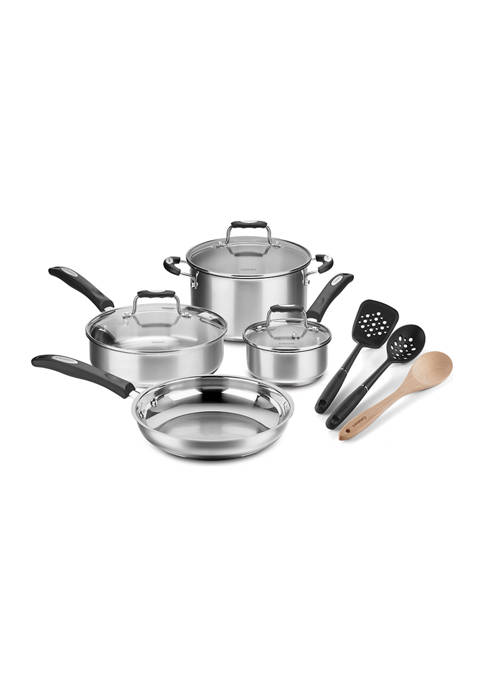 Cuisinart 10 Piece Stainless Steel Set