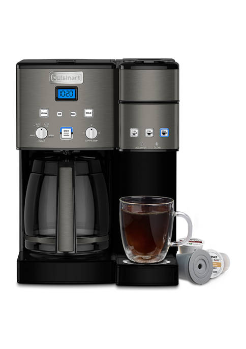 Cuisinart 12-Cup Coffeemaker and Single Serve Brewer