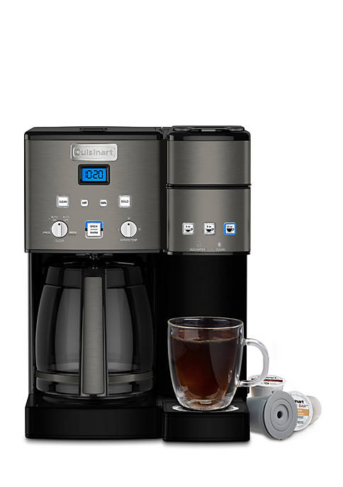 12-Cup Coffeemaker and Single Serve Brewer