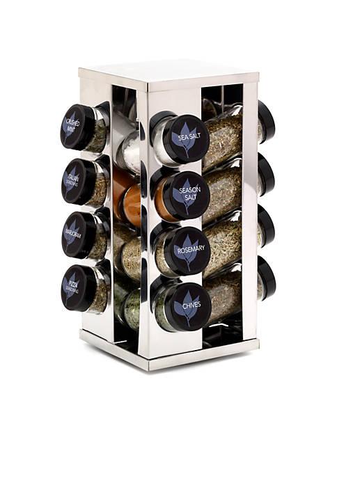 Kamenstein 16 Jar Heritage Spice Rack