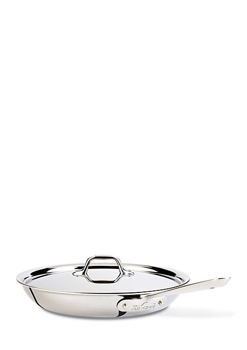 All-Clad 12-in. Covered Stainless Steel Fry Pan