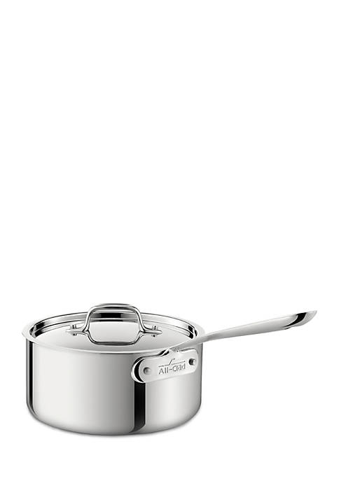 3.5-qt. Stainless Steel Saucepan with Lid