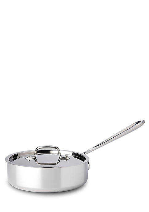 All-Clad Stainless Steel 2-qt. Saute Pan with Lid