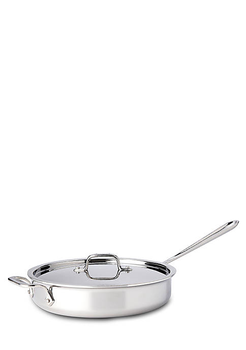 All-Clad 3-qt. Stainless Steel Saute Pan with Lid