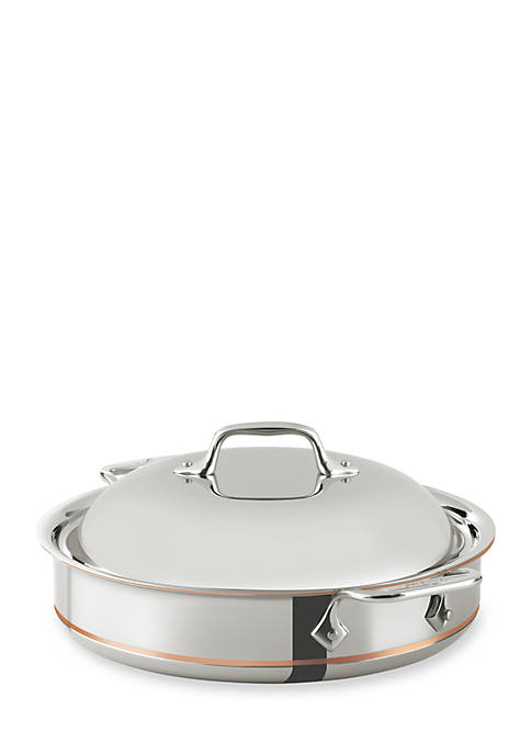 All-Clad 3-qt. Copper Core® Sauteuse with Dome Lid