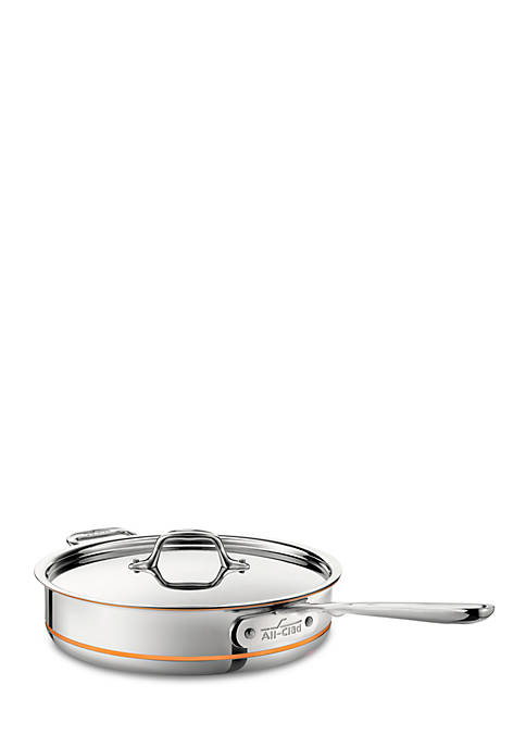 All-Clad 3-qt. Copper Core Stainless Steel Saute Pan