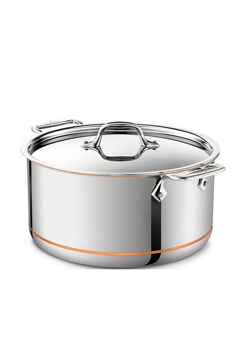 8-qt. Copper Core Stock Pot