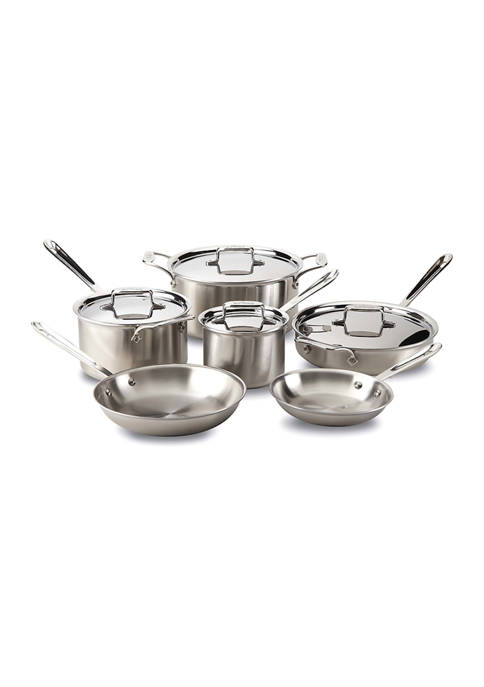 All-Clad Metalcrafters 10 Piece Cookware Set