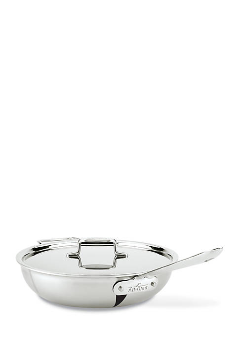 All-Clad d5® 4-qt. Stainless Steel Covered Weeknight Pan
