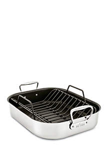 Large Nonstick Roaster with Rack