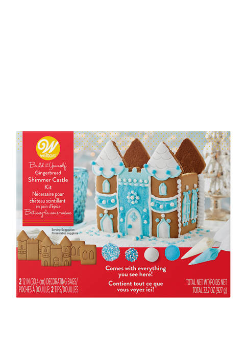 Wilton Build it Yourself Shimmer and Sparkle Gingerbread