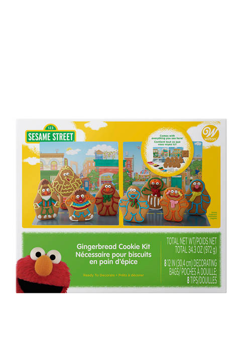 Sesame Street Gingerbread Cookie Decorating Kit