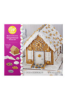 Ready-to-Decorate Dazzling Gingerbread House Decorating Kit