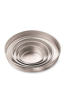 Aluminum Performance Round Cake Pans Set - Online Only