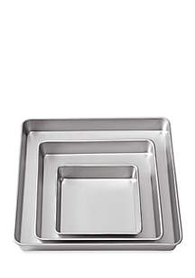 3-Piece Square Pan Set