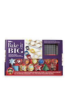 Bake It Big Mega Cookie Cutters - 17-Piece Set