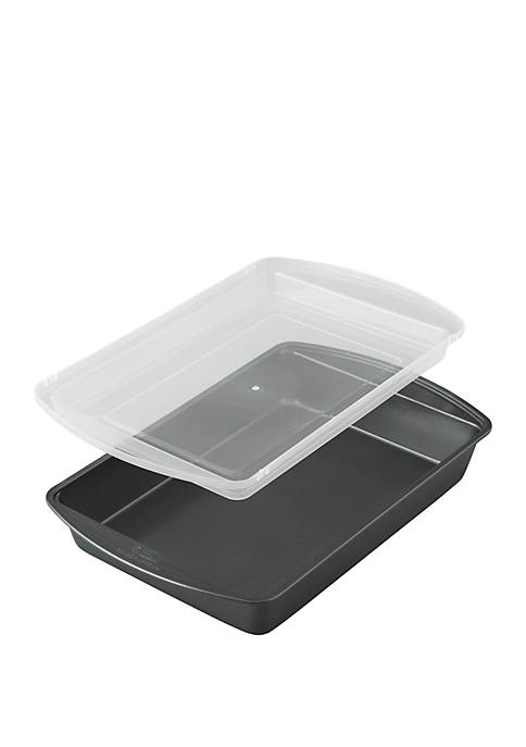 Oblong Cake Pan with Cover