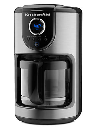 Kitchenaid 12 Cup Gl Carafe Coffee Maker Kcm111ob