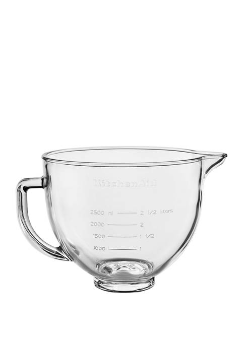 KitchenAid® 5 Quart Tilt Head Glass Bowl with