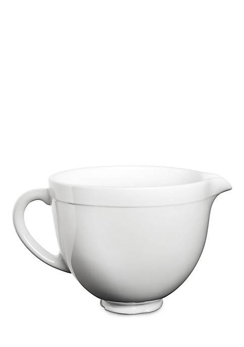 Stand Mixer 5 Qt. Ceramic Bowl White Chocolate
