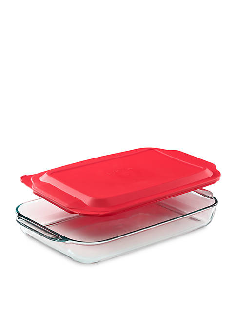 4-qt. Oblong Dish with Cover