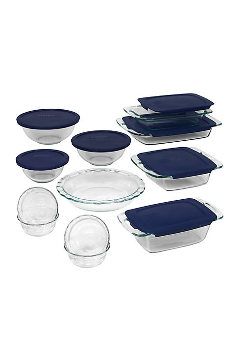 Pyrex 19 pc Easy Grab Bakeware Set