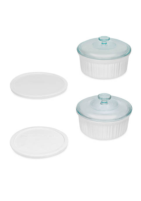 Corningware 6-Piece Round Set