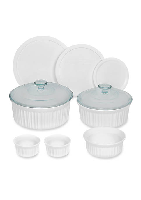 Corningware 10-Piece French White Bakeware Set