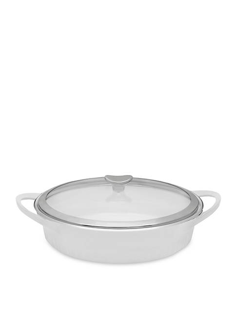 Corningware 4-qt. Braiser with Glass Cover