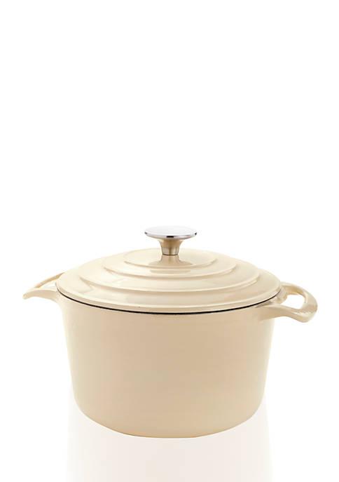Cooks Tools™ 3.5-qt. Cast Iron Porcelain Coated Dutch