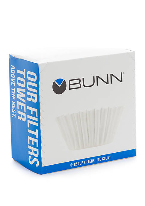Bunn 8-12 Cup Coffee Filters, 100 count