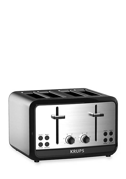 Savoy 4 Slice Toaster Stainless Steel Toaster - KH314050