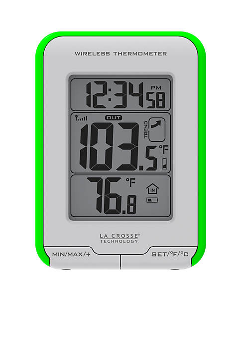 LaCrosse Technology Weather Station with Wireless Thermometer and