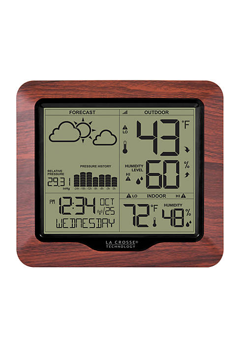 LaCrosse Technology Weather Station with Forecast in Atomic