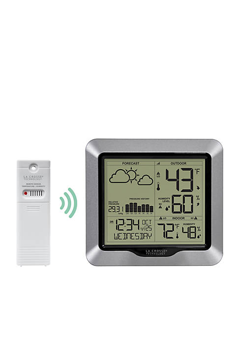 Weather Station with Forecast and Atomic Time
