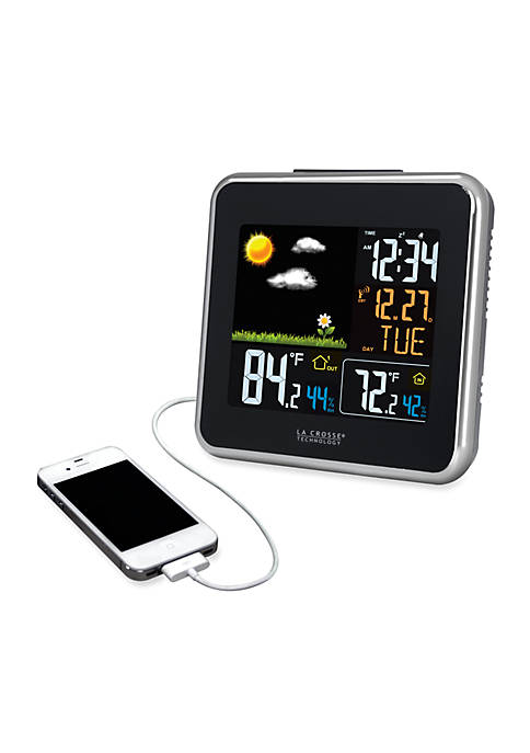Wireless Weather Station with USB Charging Port